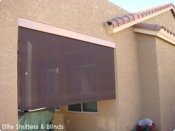Sunscreens & Patio ShadesElite Shutters & Blinds - Shutters & Blinds ...